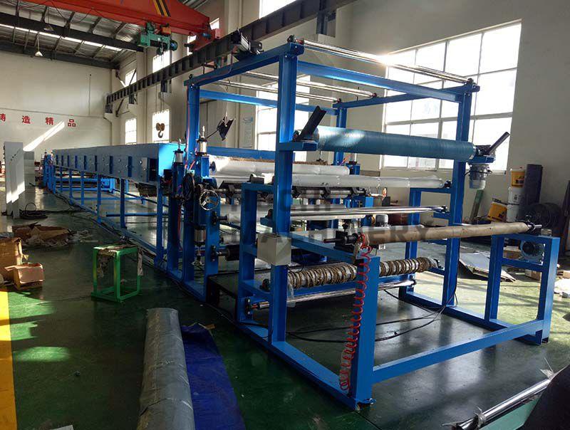 Máquina Laminadora de Velcro de Papel Abrasivo HC-LV